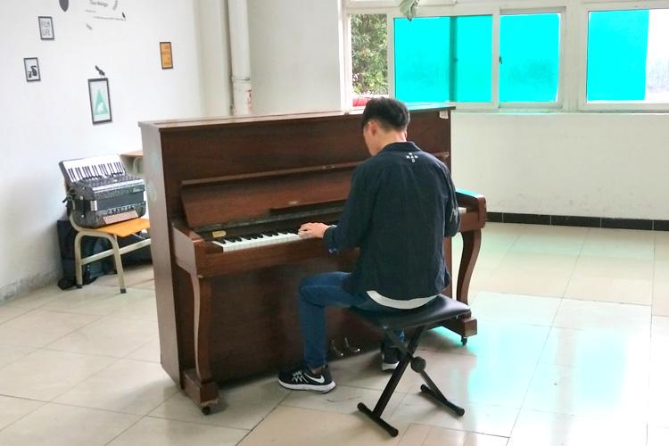 广州音乐港艺考培训学习生活