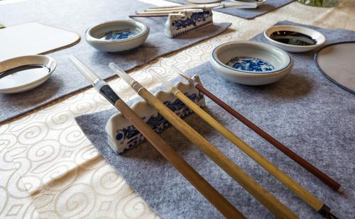 广东编导艺考文艺常识中国书法的工具和材料二